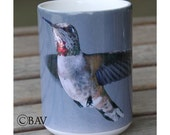Rufous Hummingbird Large Coffee Mug 15 Oz