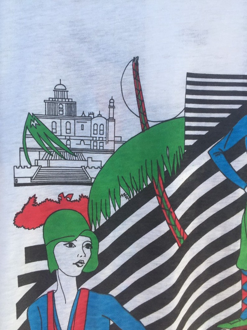 Deadstock 70/'s T-Shirt with Roaring 20/'s Graphic