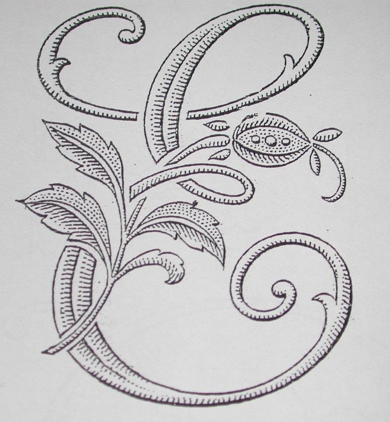 26 1 ZIP FILE Antique 1890-1909 Monogram Pattern No Full Alphabet .