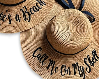 6e01694d034 FLOPPY SUN HATS Personalized