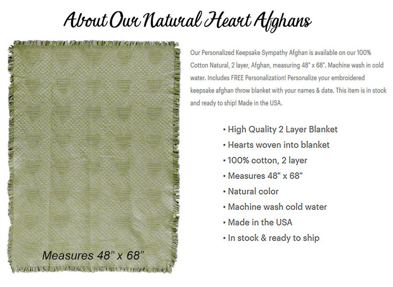 Wedding Throws Personalized Love Without End Wedding Afghans Wedding Gift Quilt Wedding Throw Blankets Wedding Quilt Blankets