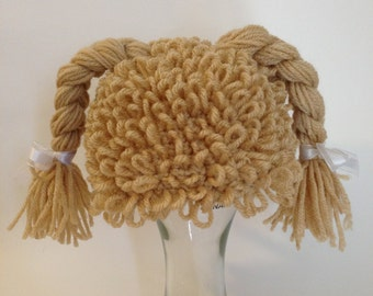 Cabbage Patch Kid Inspired Hat