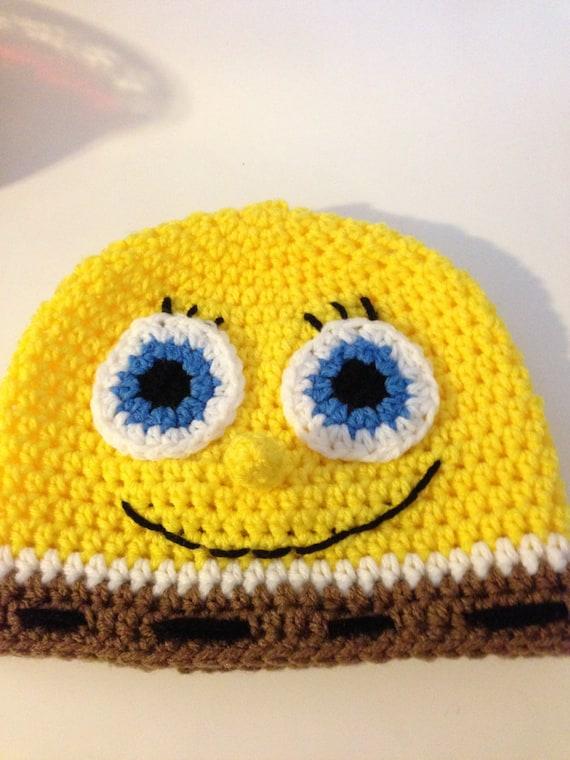Spongebob Crochet Hat Pattern Etsy