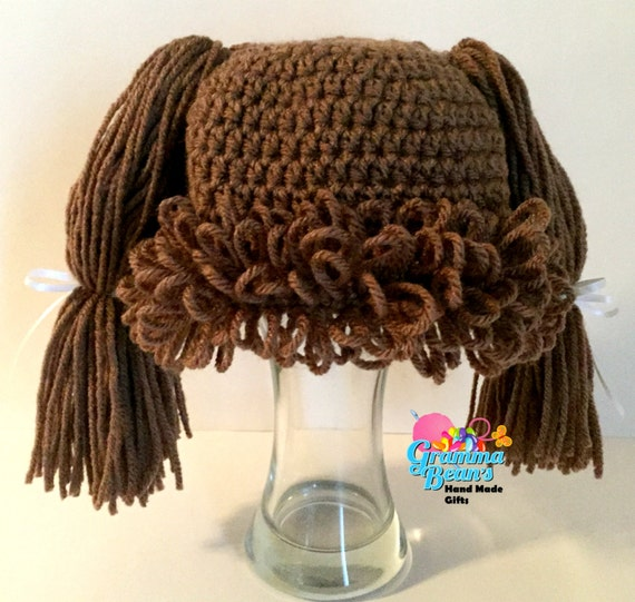 Cabbage Patch Inspired Hat Pattern Etsy