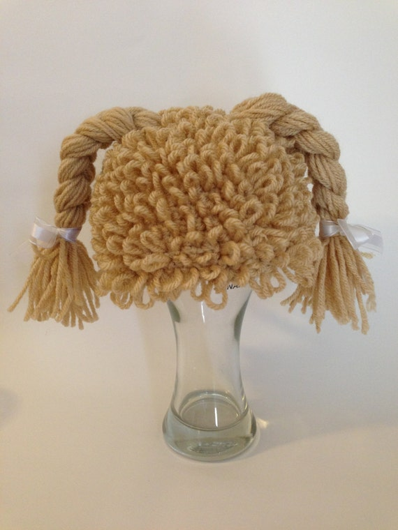 Cabbage Patch Inspired Crochet Hat Pattern Etsy