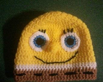 Spongebob Crochet Hat Pattern