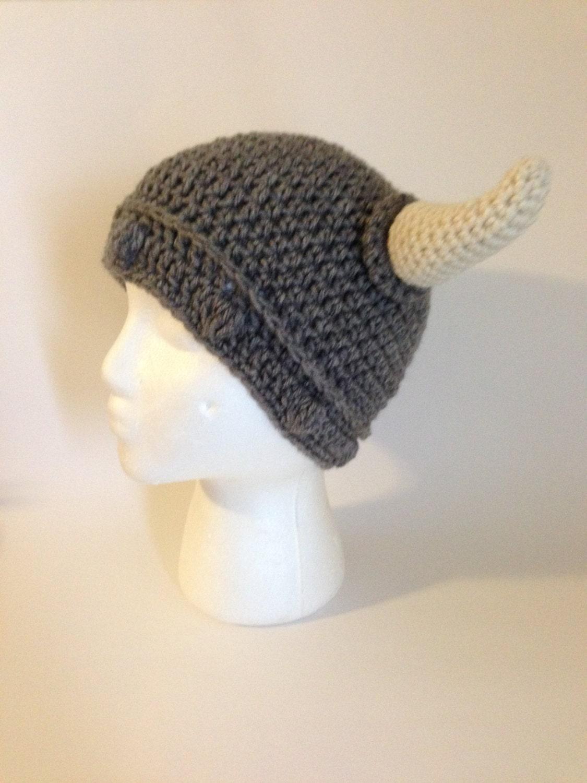 Viking Hat Crochet Pattern Etsy