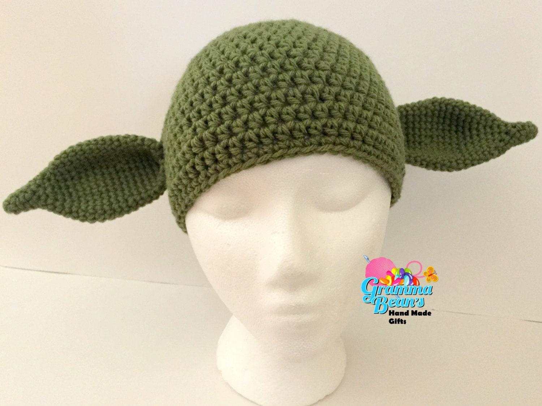 Yoda Inspired Hat Pattern Etsy