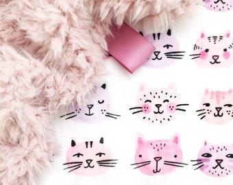 Lovey Cat Cat. Lovey. Kitten Lovey. Cat Lovey. Mini Baby Blanket. Security Blanket. Lovie. Minky Lovey.