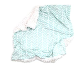 Baby Blanket Mint Chevron. The Cloud Blanket. Faux Fur Baby Blanket. Minky Baby Blanket. Chevron Baby Blanket. Mint Baby Blanket.