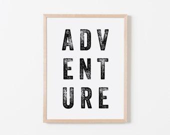 Press Adventure Art. Nursery Wall Art. Nursery Prints. Nursery Decor. Boy Wall Art. Adventure Nursery. Adventure Art. Explorer Nursery.