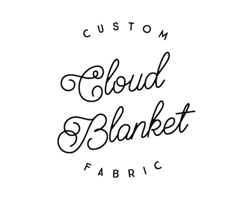 Custom Cloud Blanket: Choose Any Design. Faux Fur Baby image 0