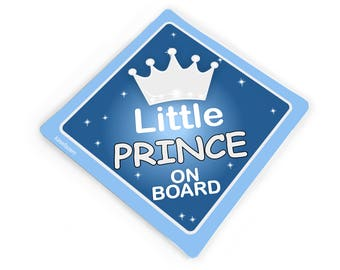 Baby Safety & Health Little Mermaid Prince Eric Personalised Disney Prince On Board Car Sign
