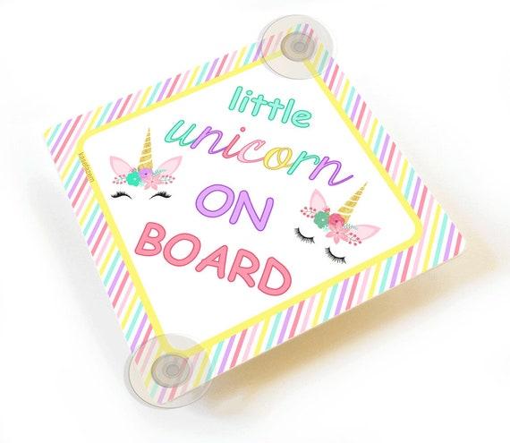 Handmade Personalised Granddaughter Baby on Board Car Sign