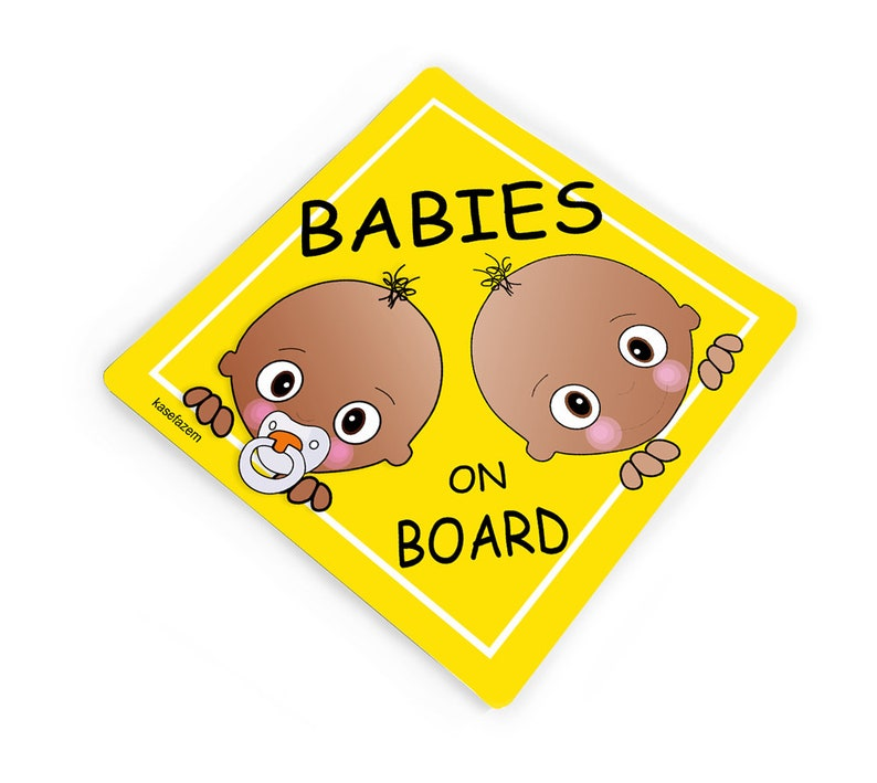 Personalised Baby On Board Car Sign New Baby Boy!