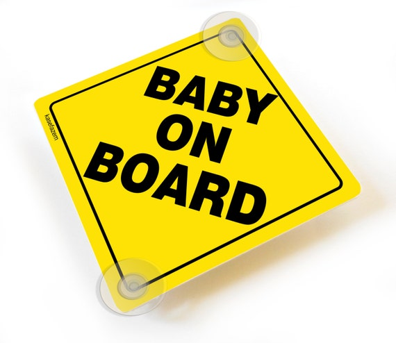 Precious Cargo On Board Car Sign Baby On Board Sign Suction Cup Car Sign