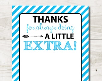 graphic regarding Extra Gum Teacher Appreciation Printable named Added gum Etsy