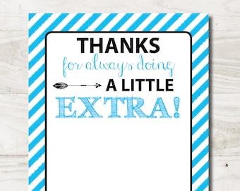 image about Extra Gum Teacher Appreciation Printable identify Excess gum Etsy