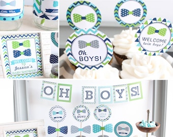 Twin Baby Shower Etsy