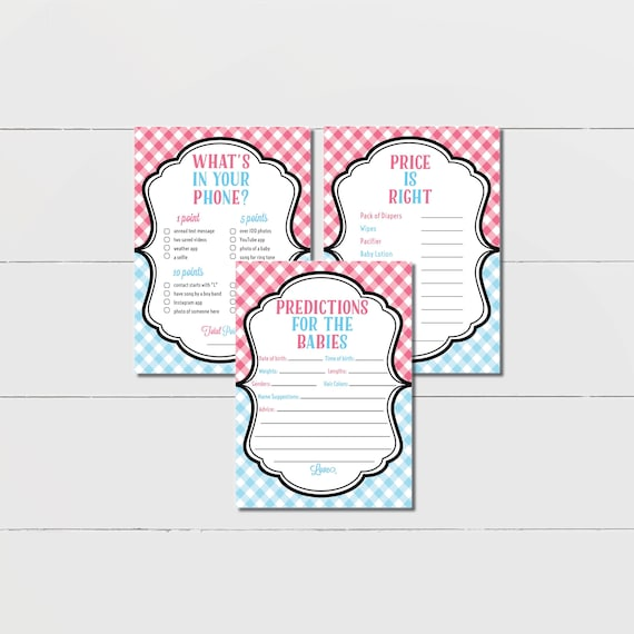 picture regarding Printable Gender Reveal Games named Twins Gender Demonstrate Game titles, printable as a result of Coral Balloon