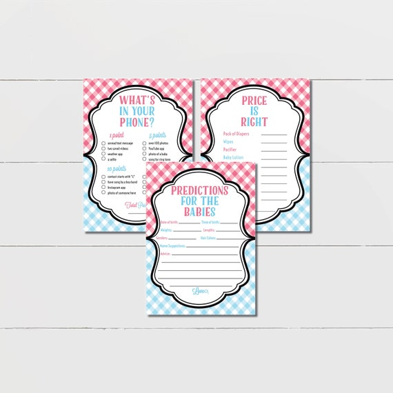photograph relating to Printable Gender Reveal Games titled Twins Gender Demonstrate Game titles, printable through Coral Balloon