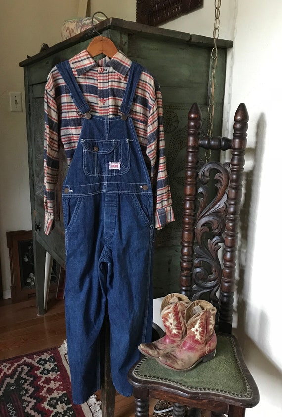 Vintage 1930's 40's Kids Workwear Strong Reliable
