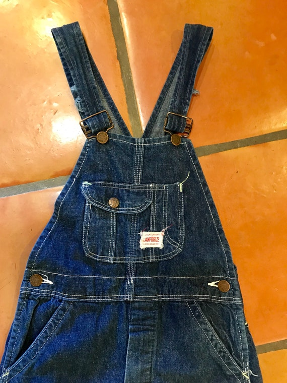 Vintage 1930's 40's Kids Workwear Strong Reliable… - image 5