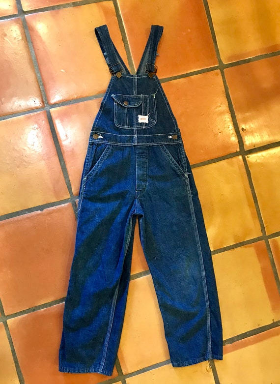 Vintage 1930's 40's Kids Workwear Strong Reliable… - image 4