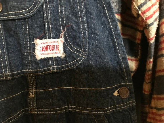Vintage 1930's 40's Kids Workwear Strong Reliable… - image 3