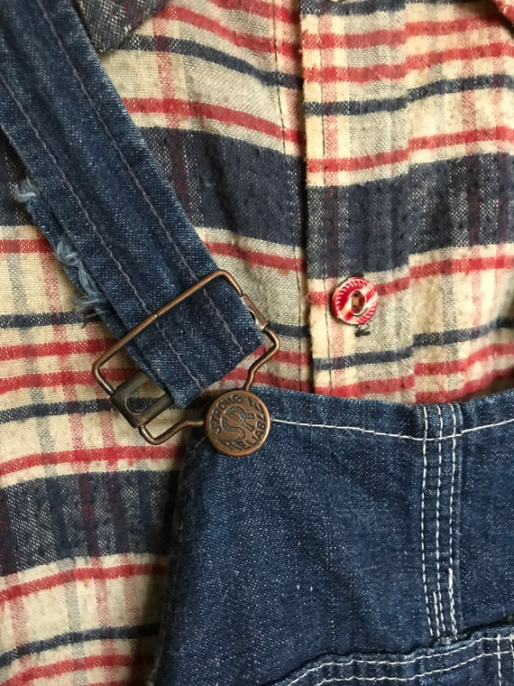 Vintage 1930's 40's Kids Workwear Strong Reliable… - image 2