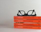 RESERVED - Thomas Hardy Book Collection - 4 Vintage Orange Penguin Paperback Books Victorian Romance Novels - Madding Crowd, Casterbridge