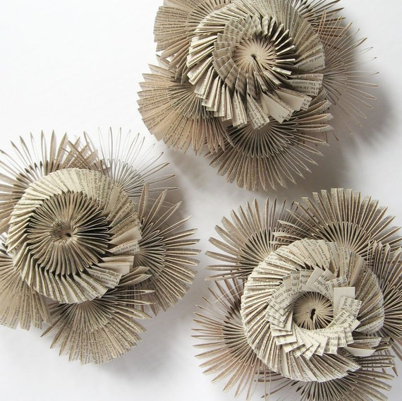 Paper cog spiral paper wall sculpture contemporary art etsy image 0 mightylinksfo