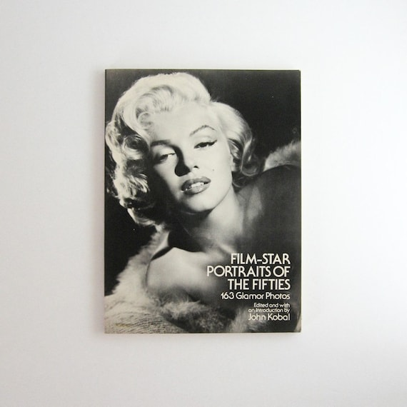 Film Star Portraits Of The Fifties Vintage Photography Book