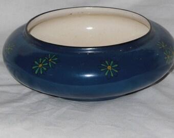 Antique Royal Doulton Porcelain Hand Painted Lustre Bowl 1800s