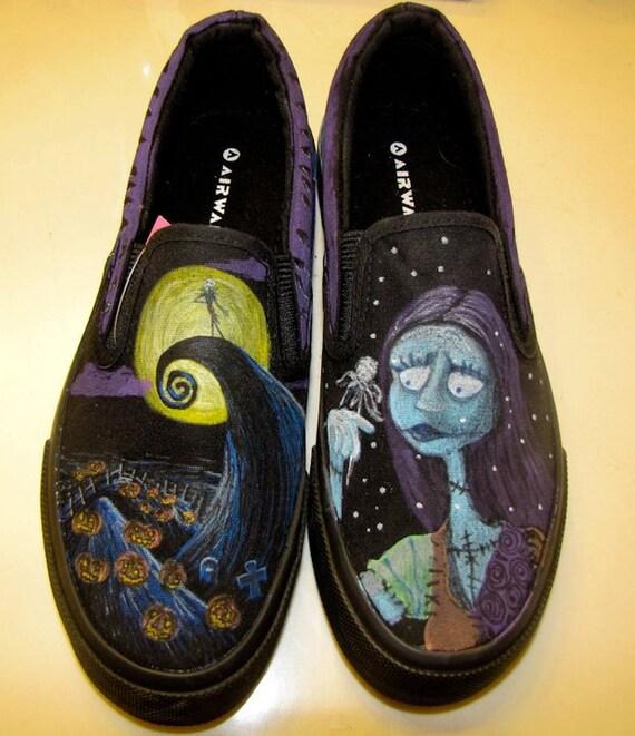 Nightmare Before Christmas Shoes Diy.Nightmare Before Christmas Shoes