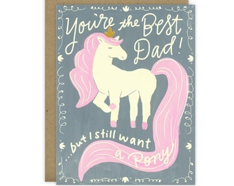 Father's Day Card, Card for dad, Card for dad from child, Card for dad from daughter, Card for dad from son, Father's Day greeting card