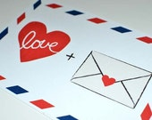 Valentine's Day Cards / Valentine's Day postcards / Love Cards / Postcards / Vintage Love Mail Postcards