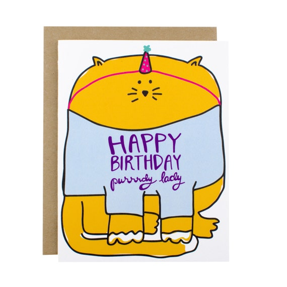 Funny Birthday Card For Girlfriend Funny Birthday Card Mom Etsy