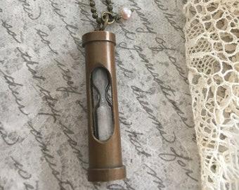 Vintage Time Keeper Necklace