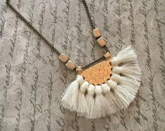 Tassle Fan Necklace