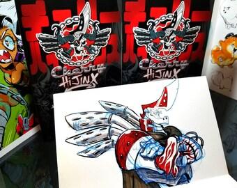 Cherry HiJinx: Sketchworks