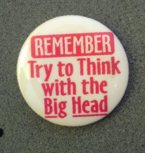 Retro '80s Pinback Button