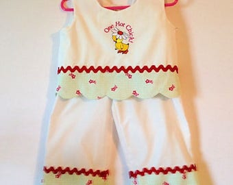 Toddler Crop Top, Toddler Capri Set,Toddler Girl Outfit, Toddler Girl Clothes, girls clothing, childrens clothing