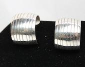 Navajo Sterling Silver Post Earrings