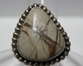 Boulder Turquoise and Sterling Silver Ring