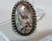 Dry Creek Turquoise and Sterling Silver Ring