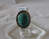 Sierra Mtn Turquoise and Sterling Silver Ring