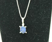 """Turtle Necklace on 24 """" Chain"""