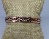 Copper Cuff Bracelet measures