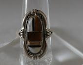 Multi Stone Inlay Ring Size 7